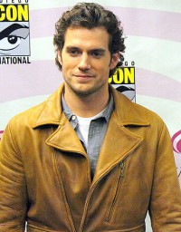 This is a picture of Henry Cavill, who played Superman in Man of Steel.